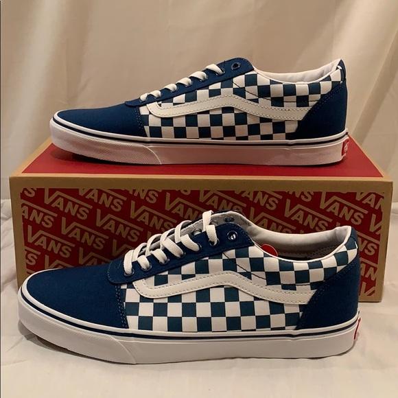 Vans Ward Checkerboard Sailor Blue